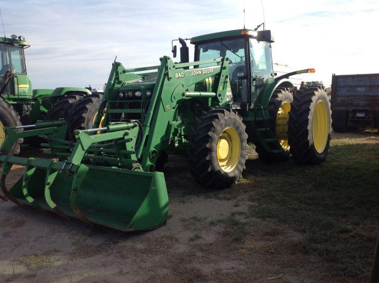 JD 8120 Diesel Tractor, PTO & 3pt , 4 Hydraulics, w/Front-end assist